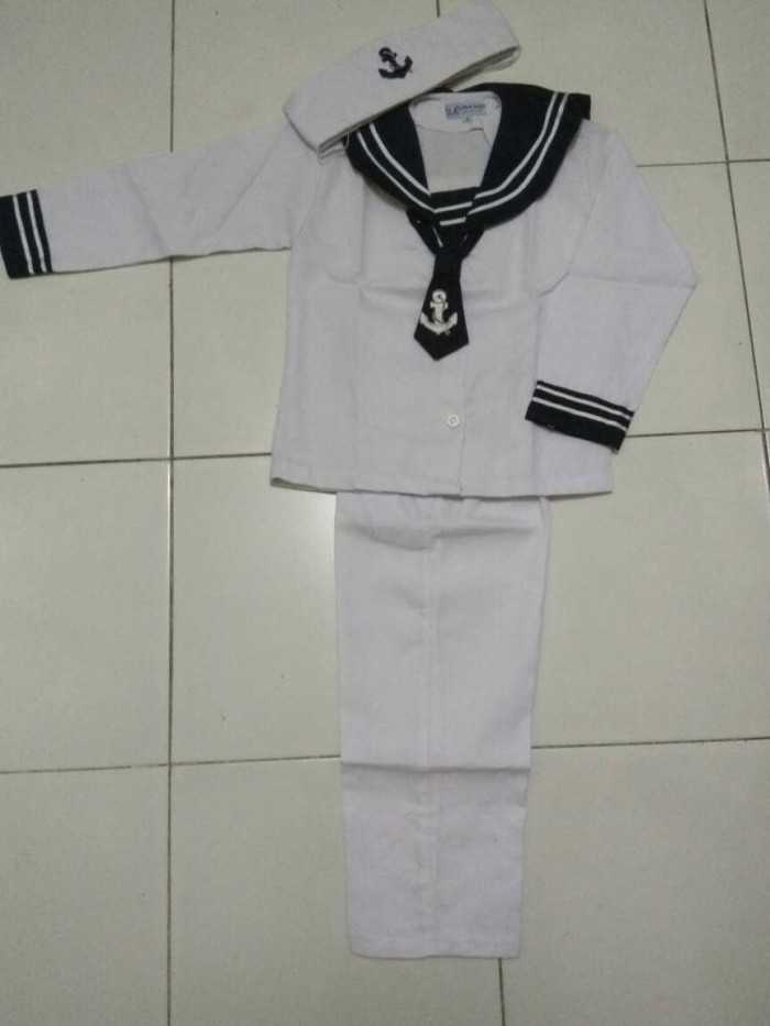 harga Baju kostum karnaval anak profesi popeye sailor pelaut tni al Tokopedia.com