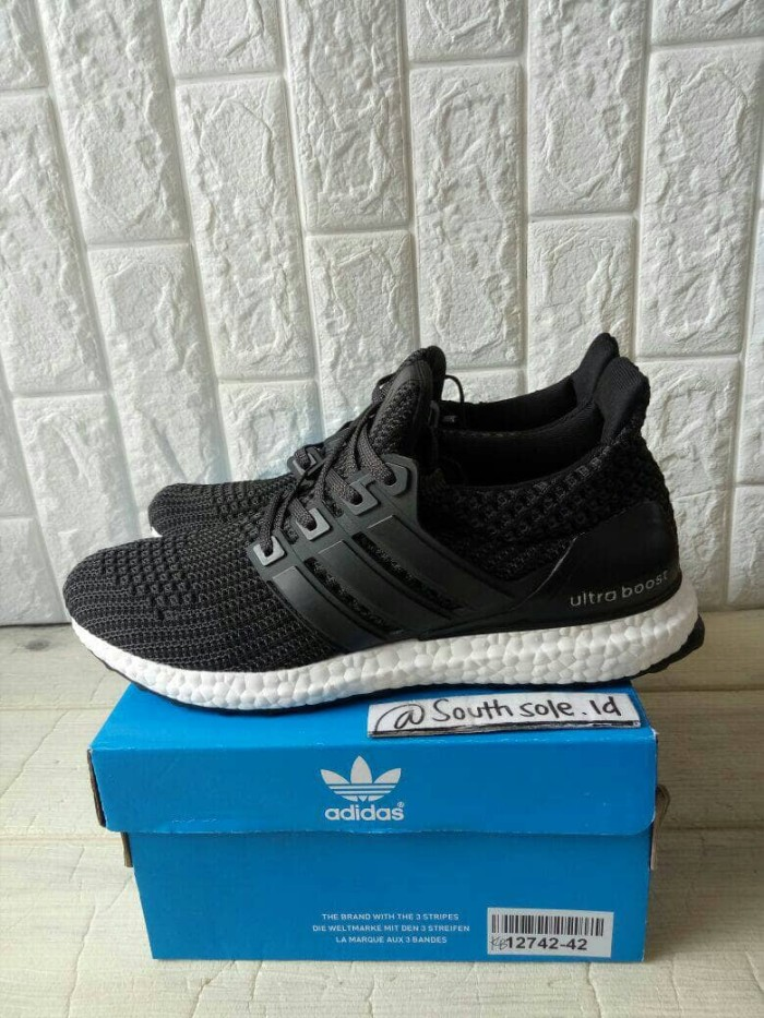 Jual Adidas Ultra Boost 4.0  Black White  - South Sole indonesia ... 151ae287f4
