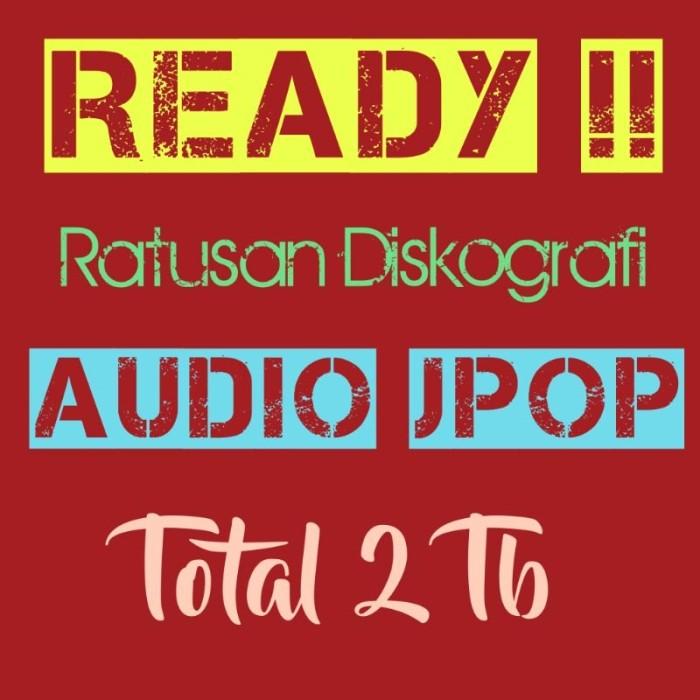 Jual DVD Audio lagu Jpop format mp3, flac, ape, wav, wv, m4a - Kota  Magelang - Ichi69   Tokopedia
