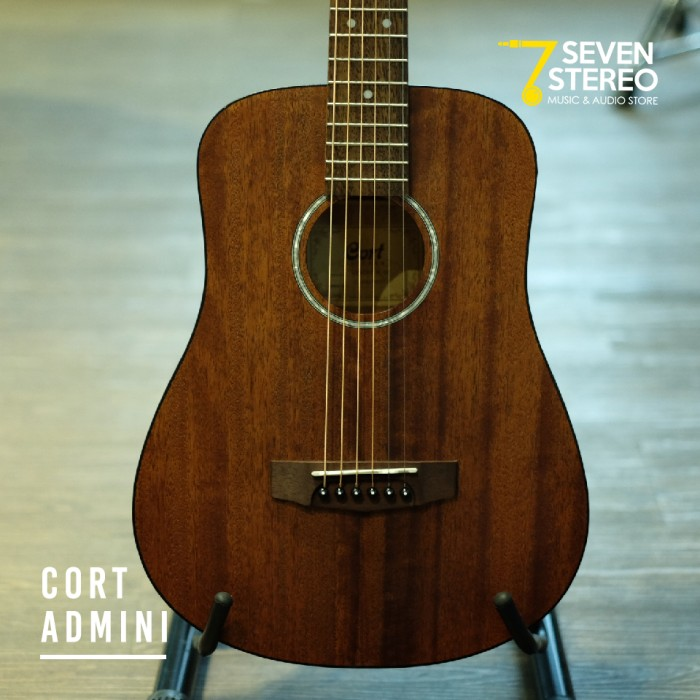 harga Cort ad mini op gitar akustik junior - brown Tokopedia.com