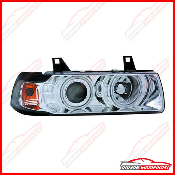 harga Headlamp - bmw e36 1991-1999 - eagleeyes - angel eyes - projector Tokopedia.com