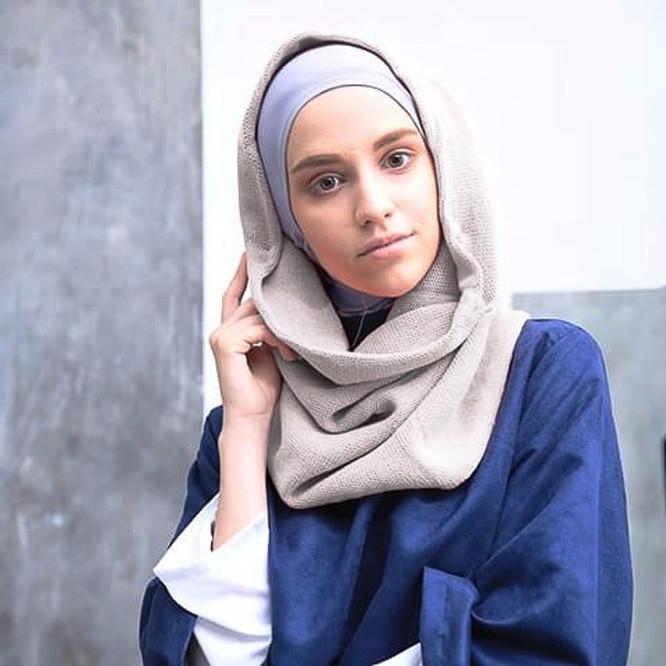 Montaza Hijab Jilbab Instan Hitam Kerudung Geblus Spandek Smr556 Source · Scarf Hijab Instant Rajut 2