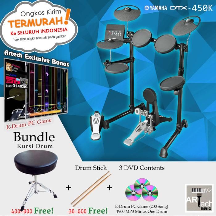 harga Drum elektrik yamaha dtx450 bundle kursi / dtx450k / dtx 450 / dtx 450 Tokopedia.com