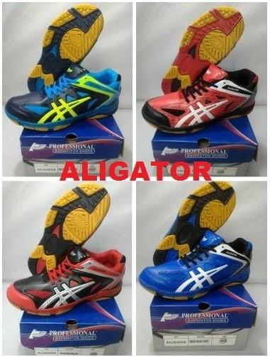 harga Sepatu badminton / bulutangkis professional aligator / alligator Tokopedia.com