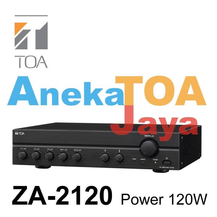 harga Toa za-2120 original amplifier mixer power 120 watt asli za2120 Tokopedia.com