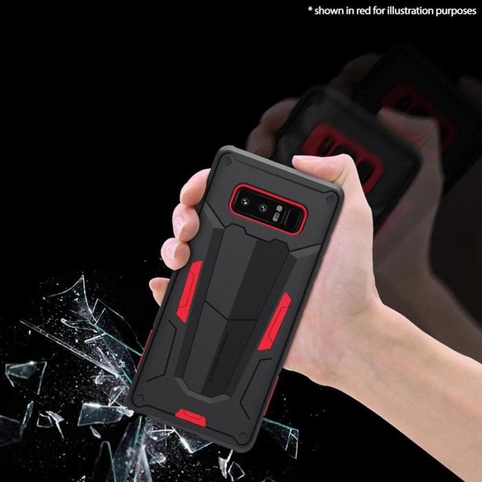 Samsung Galaxy Note 8 Nillkin Defender 2 Case Red - Merah .
