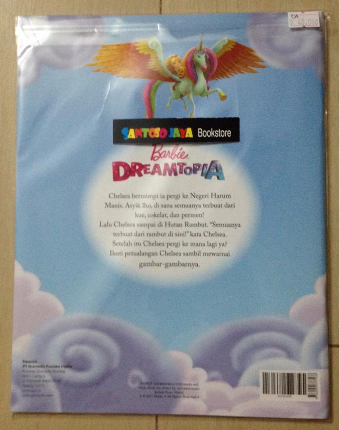 Jual Barbie Dreamtopia Buku Cerita Mewarnai Dan Permainan