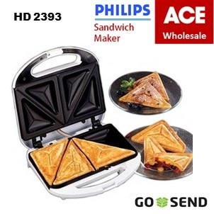 Philips pemanggang roti - sandwich maker HD 2393 toaster HD2393 philip