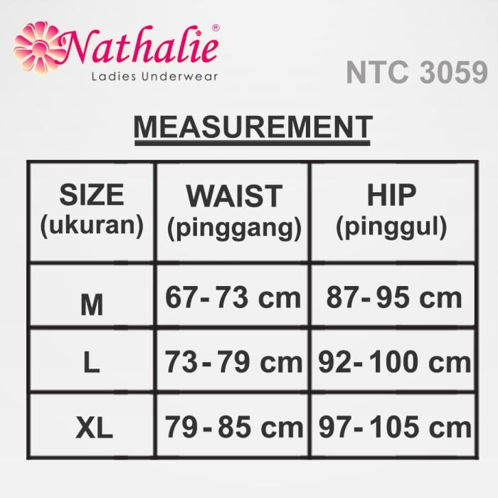 Jual Nathalie Underwear Midi Perfect Panty Celana Dalam Wanita NTC ... 2e084da40b