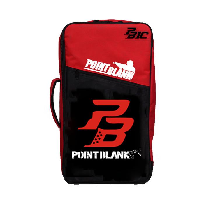 Gaming Bag - Tas Gaming Barracuda V5 5in1 - Point Blank PB RED