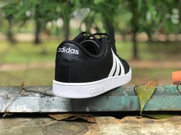 ... harga Adidas neo baseline black stripe white original bnwb Tokopedia.com 26272d8077