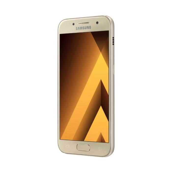 Samsung Galaxy A3 2017 SM-A320 Smartphone - Gold [Garansi Resmi]