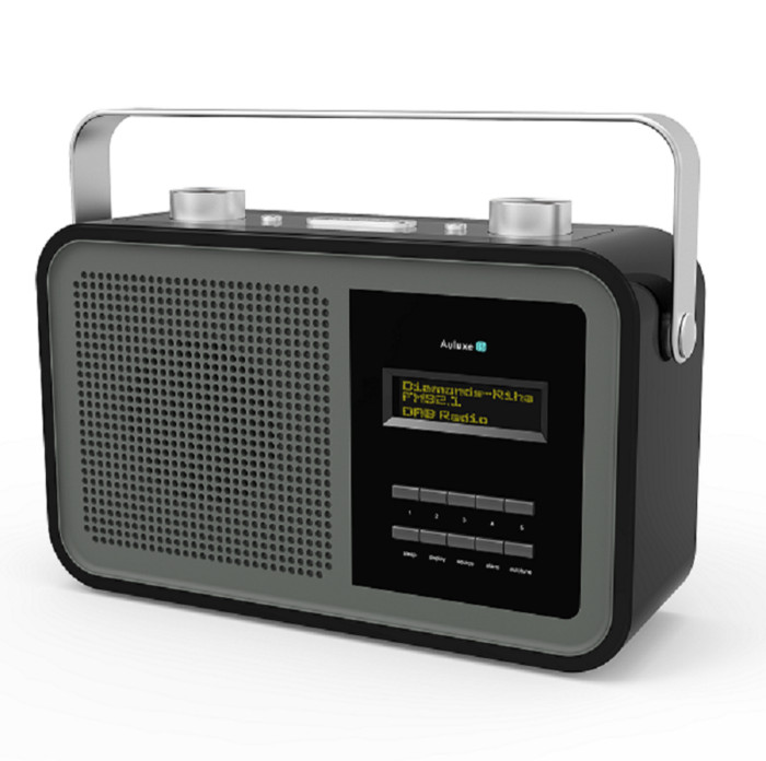 Foto Produk Auluxe DAB1 BR1010 Portable DAB + Radio With Bluetooth dari Central Electronic