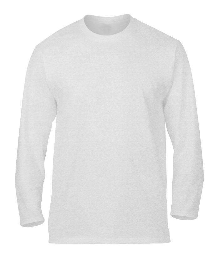 Jual Kaos Polos Lengan Panjang Size M Cotton Combed 20s Unisex Putih Kota Tangerang Banban 83 Tokopedia