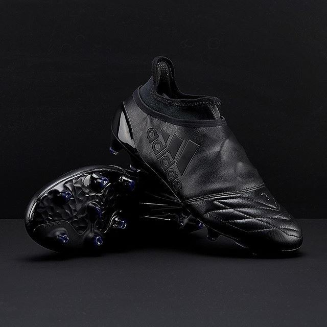 new style 0149b 2e117 Jual Sepatu Bola Adidas X 16+ Purespeed FG Leather Blackout - Kab. Banyumas  - Sepatu Futsal Prodirect | Tokopedia