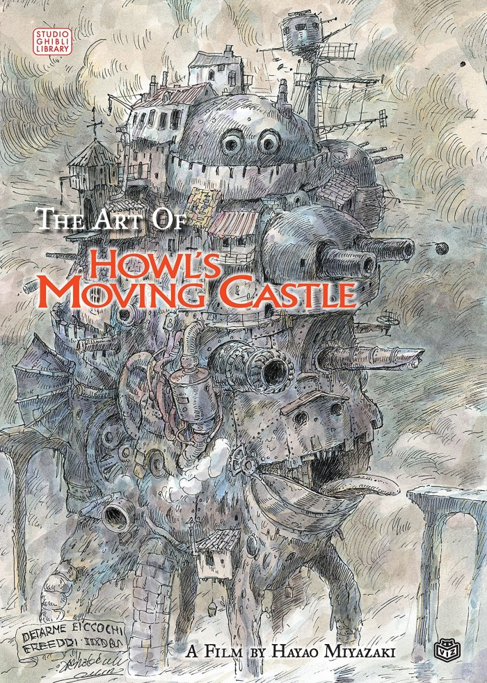 The Art of Howl's Moving Castle HC - Hayao Miyazaki Book VIZ Media