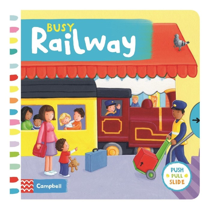 harga Busy railway (busy books series campbell) push pull slide Tokopedia.com