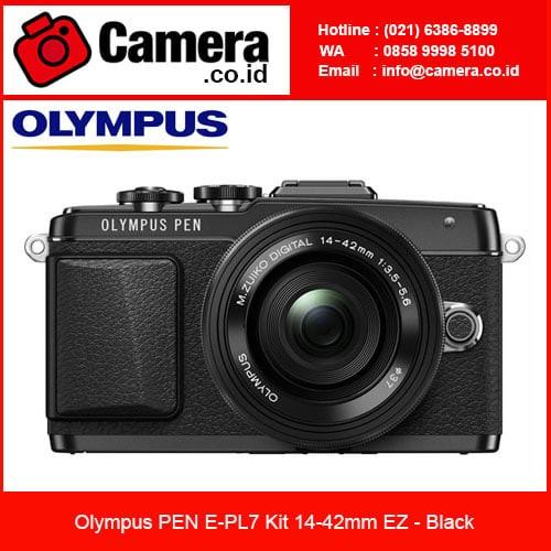 harga Olympus pen e-pl7 kit 14-42mm ez - black / kamera mirrorless Tokopedia.com