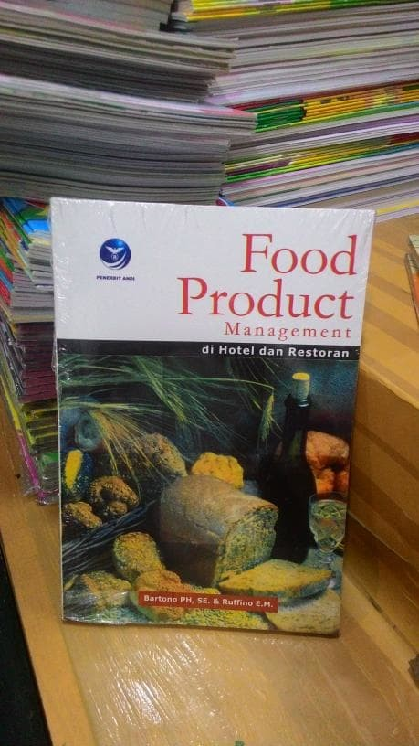 harga Buku food product management di hotel dan restoran * bartono ph Tokopedia.com