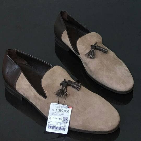 Jual Sepatu Pantofel Pria Zara Man Shoes Original 100 Kota