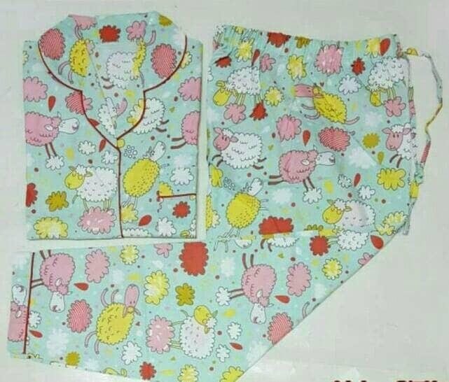harga Piyama ukuran besar - happy sheep big size long pants pajamas Tokopedia.com