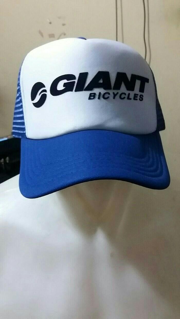 Jual TRUCKER HAT GIANT BICYCLES - Seuseuh Beungeut  352cdcd62163