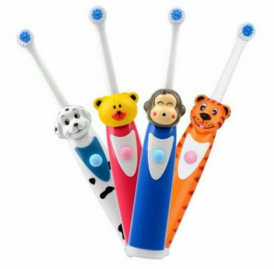 Foto Produk Children Rotating Electric Toothbrush - Sikat Gigi Elektrik Putar Anak dari Artshop Links