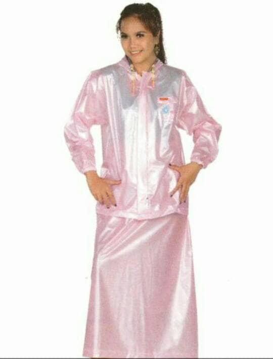 harga Setelan jas hujan rok - jas hujan muslimah - raincoat skirt merk tiger Tokopedia.com