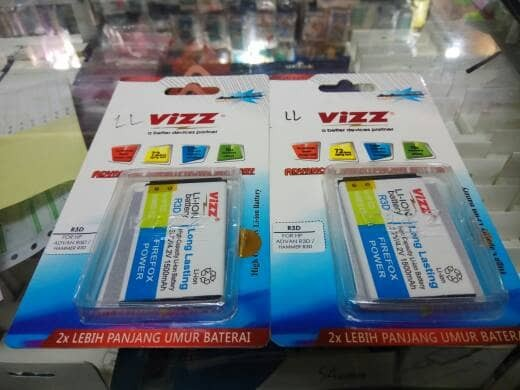 harga Batre baterai battery advan r3d advan hammer r3d double power vizz Tokopedia.com