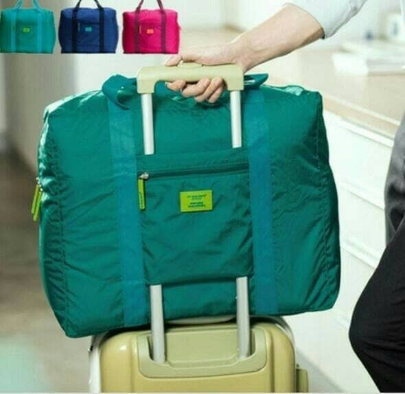harga Foldabel travel bag tas travel organizer koper parasut besar murah Tokopedia.com