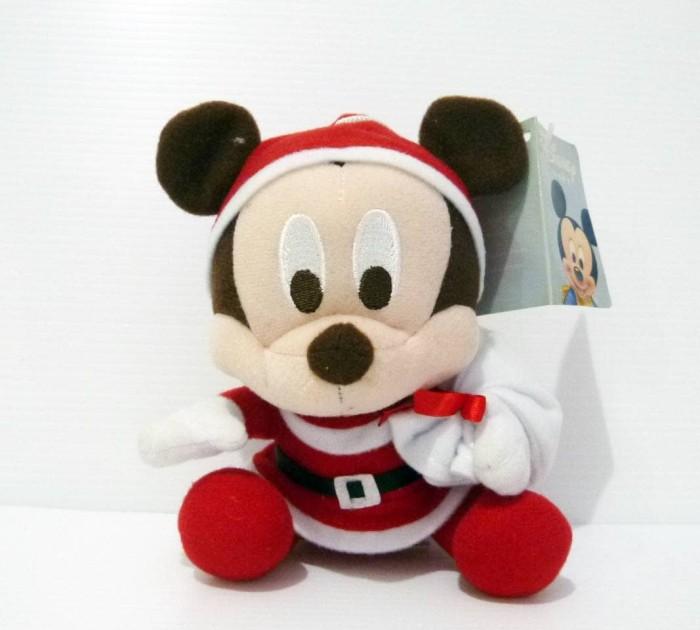 Jual Boneka Mickey Mouse Original Disney Santa Christmas Version ... 4c731f6bc9