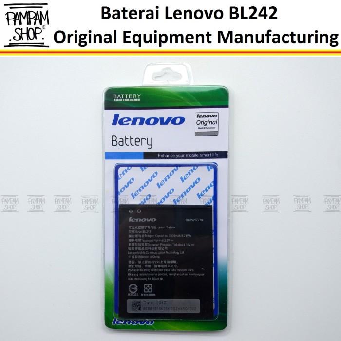 harga Baterai handphone lenovo a6000 + plus bl242 original | bl 242 a6000+ Tokopedia.com