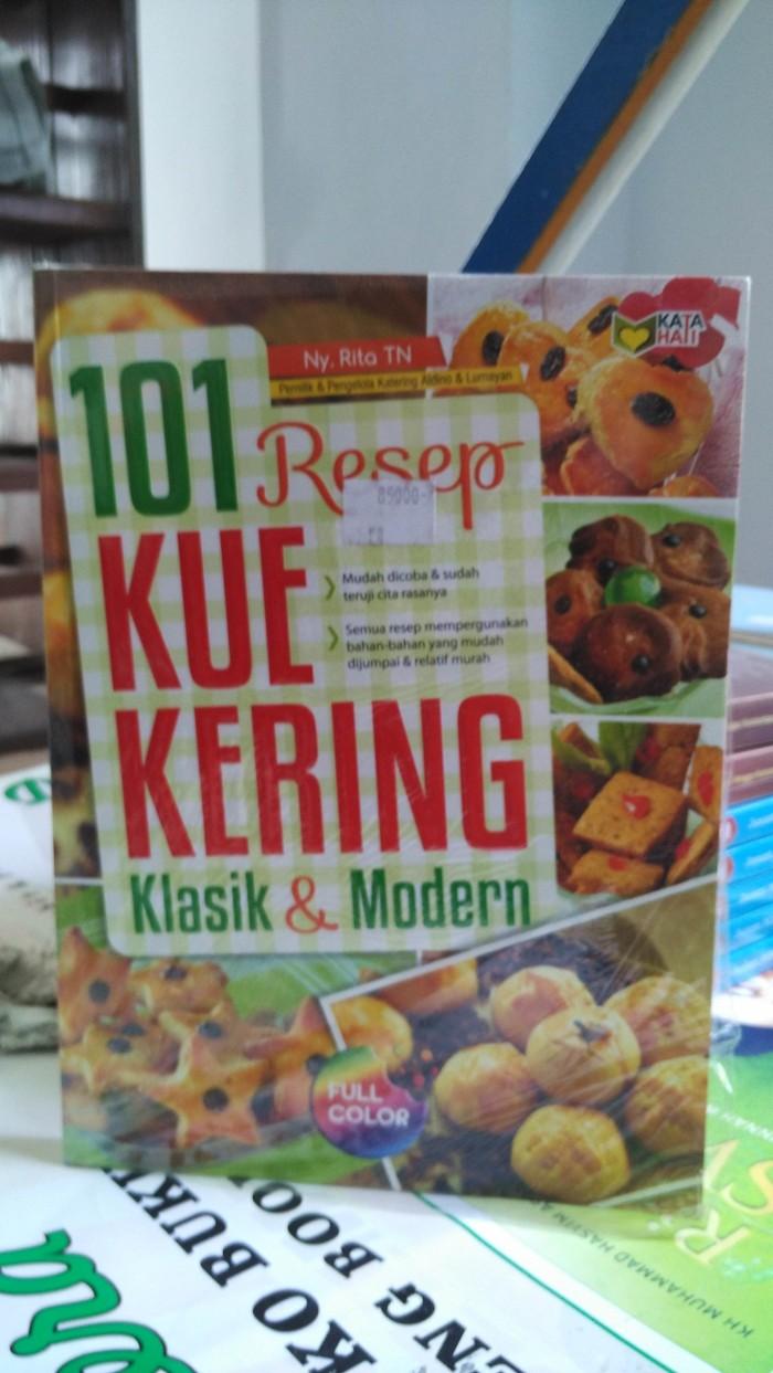 Jual 101 Resep Kue Kering Klasik Modern Kab Malang Toko Buku Lantip Tokopedia