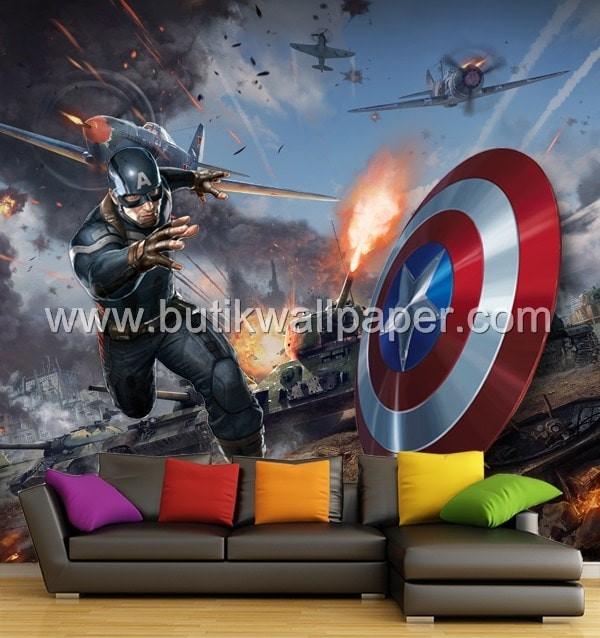 Unduh 75+ Wallpaper Dinding Captain America Gratis Terbaru