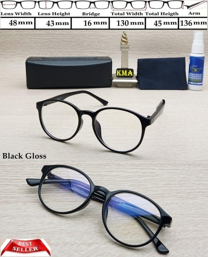 Jual Frame Kacamata Minus Frame Kacamata Bulat Oval Kacamata Korea ... 8d52faaa51