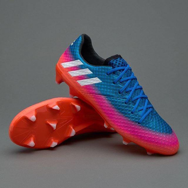 Jual Sepatu Bola Adidas Messi 16 1 Fg Blue White Solar Orange