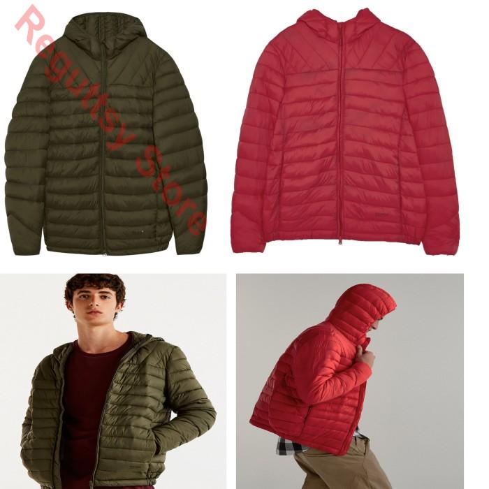 harga Jacket jaket duck down pull & bear jaket bulu angsa jaket branded Tokopedia.com