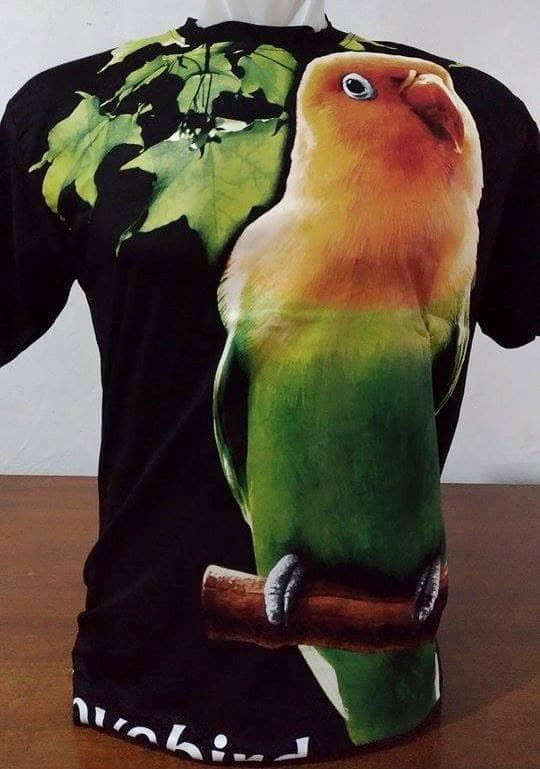 harga Kaos kicau mania burung love bird (abr1g) Tokopedia.com