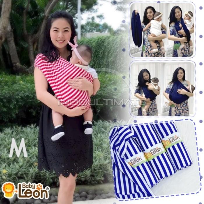 BABY LEON GENDONGAN Bayi Kaos/Geos/selendang Bayi Praktis salur RED