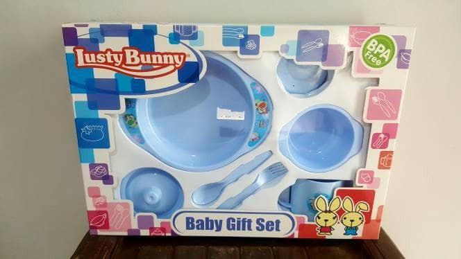 Foto Produk LUSTY BUNNY Feeding Set B dari Kotak Mainan Tasik