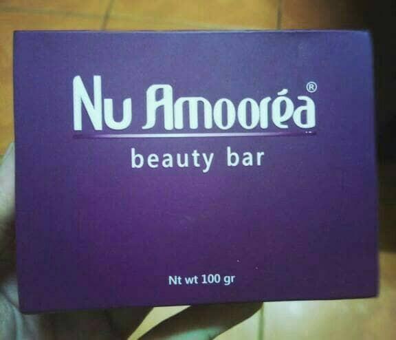 harga Sabun nu amoorea beauty bar 100 gram asli pt dep Tokopedia.com