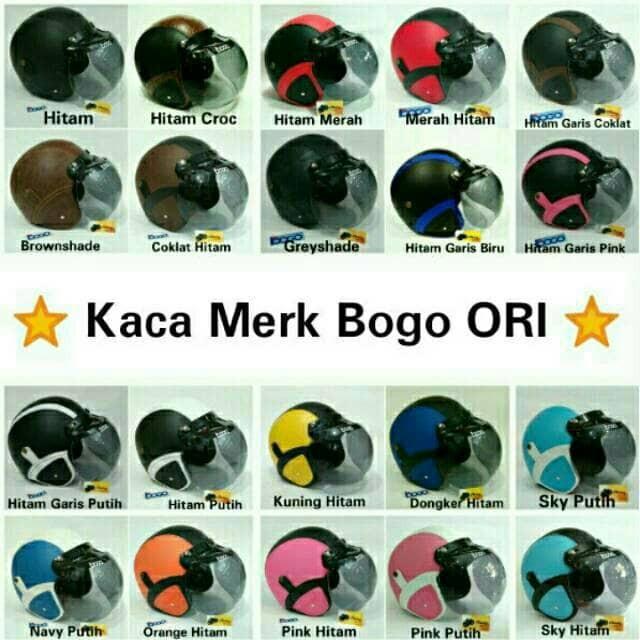 Katalog Helm Bogo Helm Retro Travelbon.com