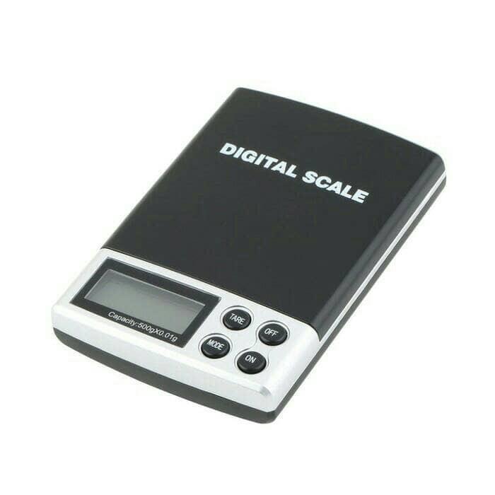 Timbangan Saku Digital 500 gr Akurasi 0.01 gr Pocket Jewelry Scale