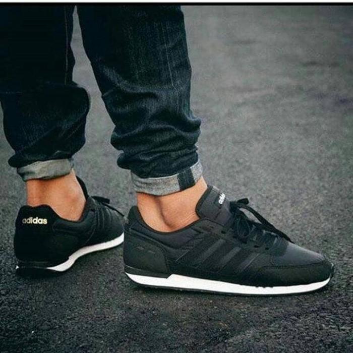 Katalog Adidas Neo City Racer Black Travelbon.com
