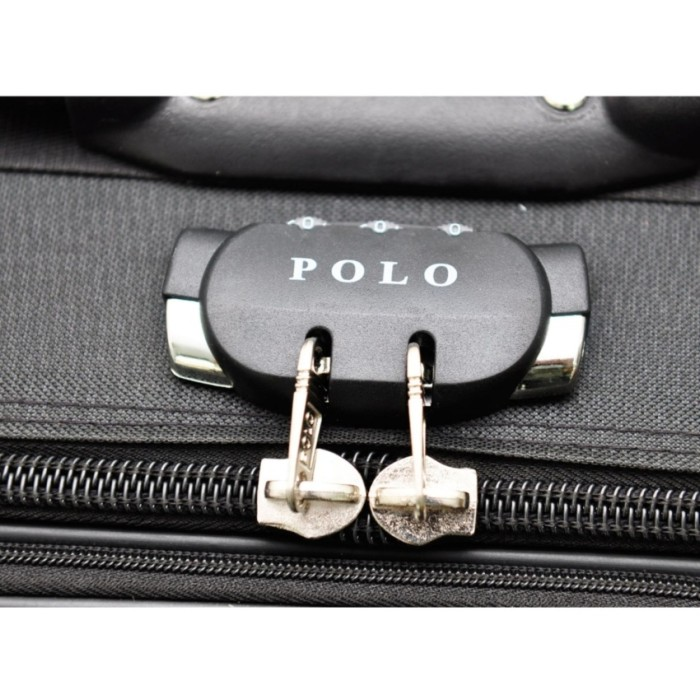 Polo Team Tas Koper Expander 2 Roda size 20 inch Gratis .