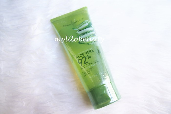 harga Nature republic aloe vera 92% soothing gel (tube) Tokopedia.com