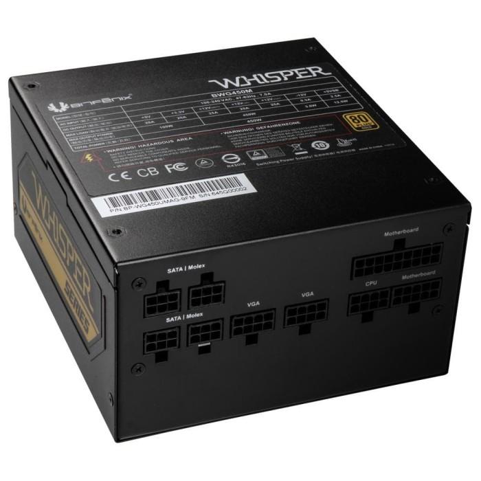 Foto Produk Bitfenix Whisper 550W - BWG550M Full Modular - 80+ GOLD dari distributorkomputer