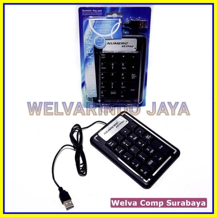 Keyboard USB Angka Numerik Nomor