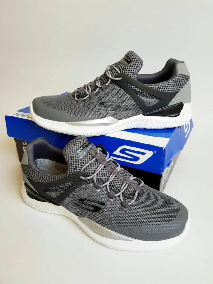 harga Sepatu Skechers Pria   Skecher   Skechers Muzzin Sport Men Grey  Blanja.com f09fe06813