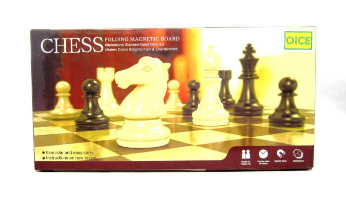 Catur papan magnet / chess magnetic board game exclusive